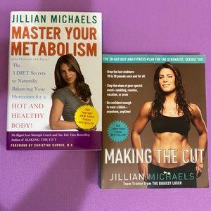 Jillian Michaels - 2 book lot, Fitness/Nutrition
